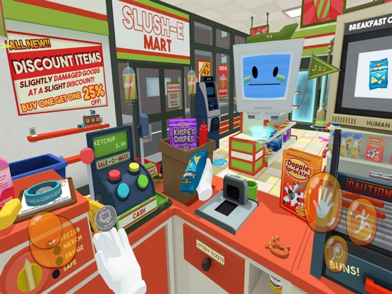 Slush'E'Mart - Job Simulator screenshot 12
