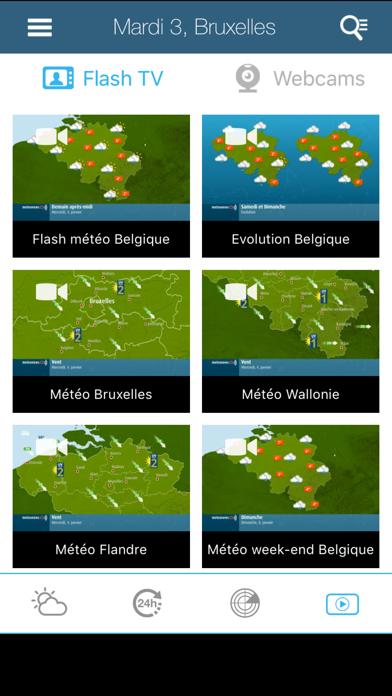messages.download Météo pour la Belgique software