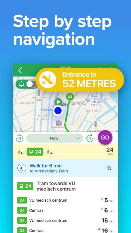 Amsterdam Transit • GVB Times screenshot-3