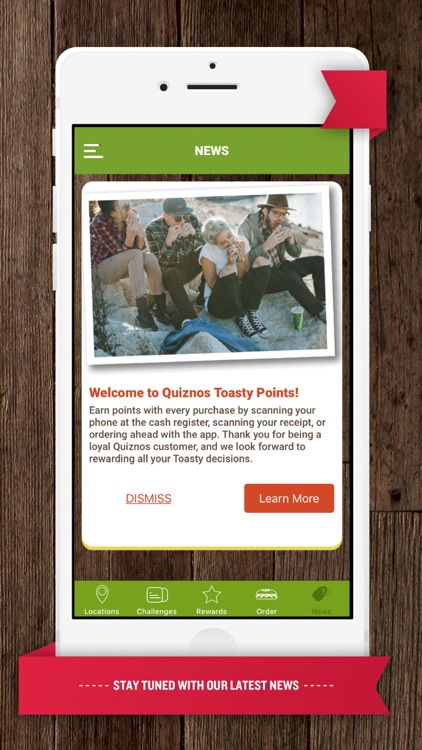 Quiznos Toasty Points screenshot-3