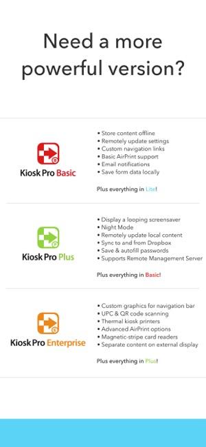Kiosk Pro Lite on the App Store