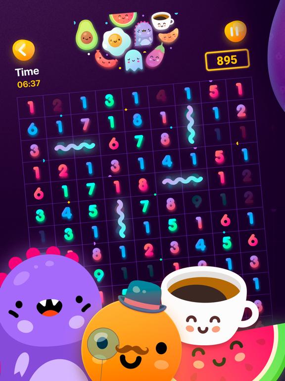 Numberzilla Number Puzzle Game screenshot 1
