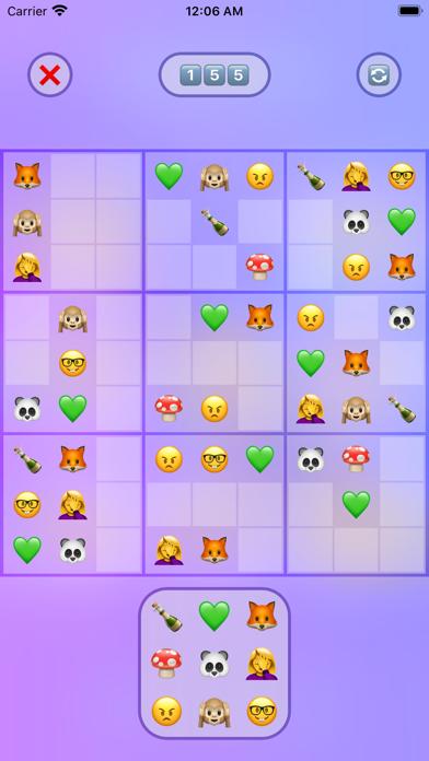 Jan's Emoji Sudoku screenshot 1