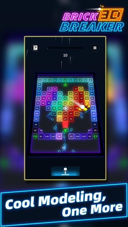 Brick Breaker 3D - Slide Balls screenshot-3