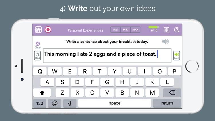 Advanced Writing Therapy screenshot-4