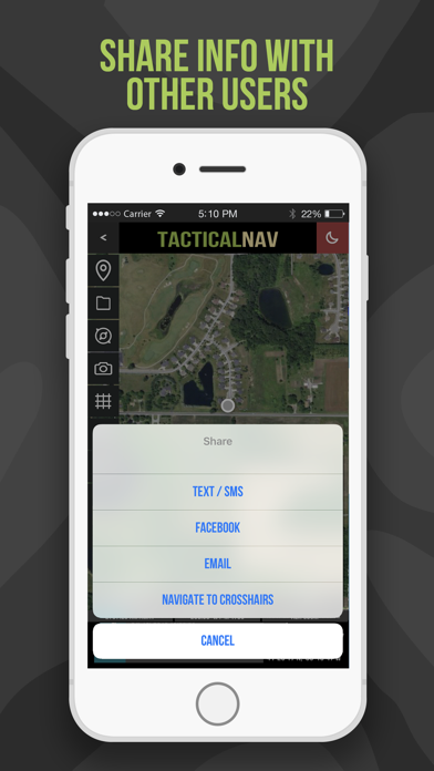 Tactical NAV Screenshot