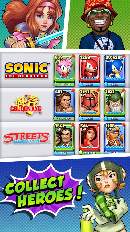 SEGA Heroes: Puzzle RPG Game screenshot-3