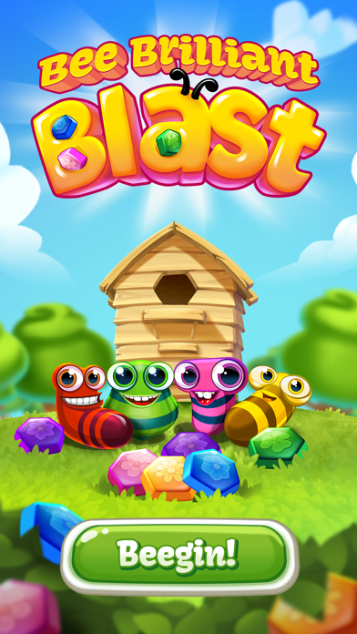 Bee Brilliant Blast Screenshot