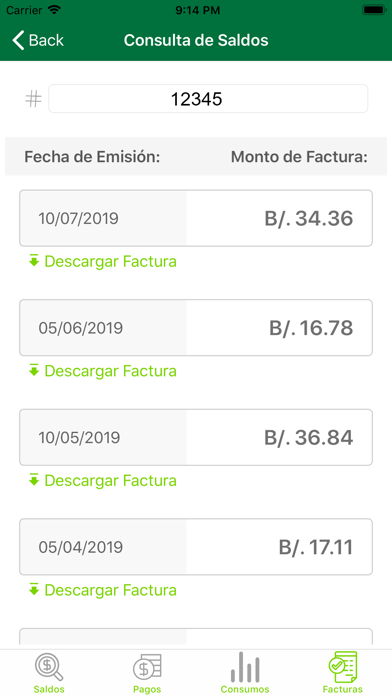 ENSA Panamá screenshot 4