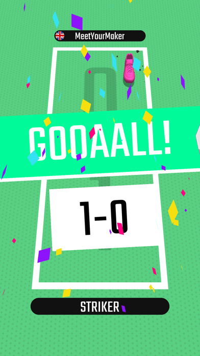 Foot Tennis 3D screenshot 3