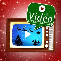 Buon Natale Video.Buon Natale Cartoline Animate Su App Store