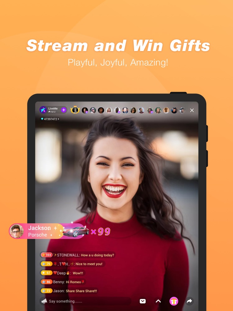 LiveMe -Live Video Chat App for iPhone - Free Download
