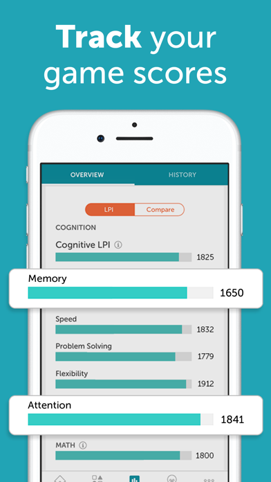 Screenshot for Lumosity: Daily Brain Games in Israel App Store