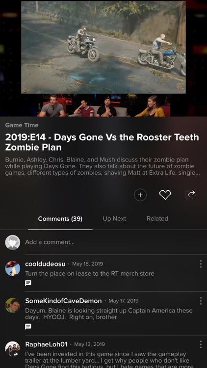 Rooster Teeth ® screenshot-3