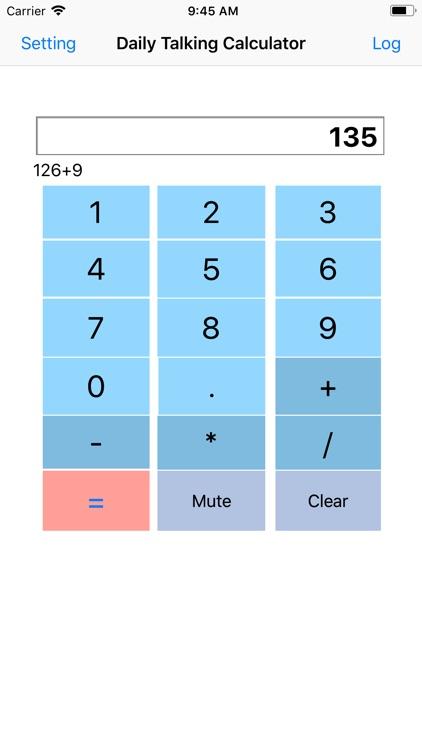 Daily Talking Calculator