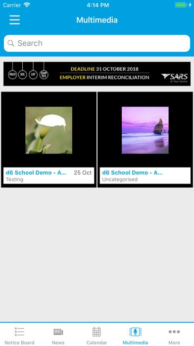d6 School Communicator screenshot four