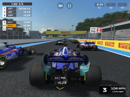 Игра F1 Mobile Racing