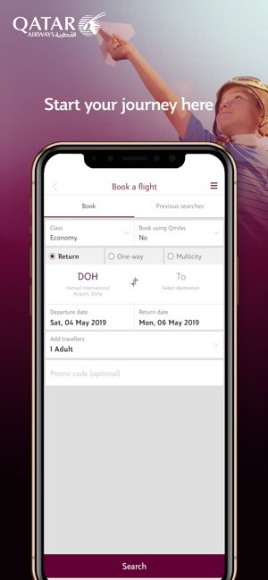 Qatar Airways on the App Store