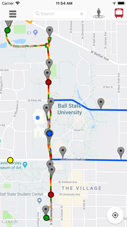 Ball State Campus Map screenshot-3
