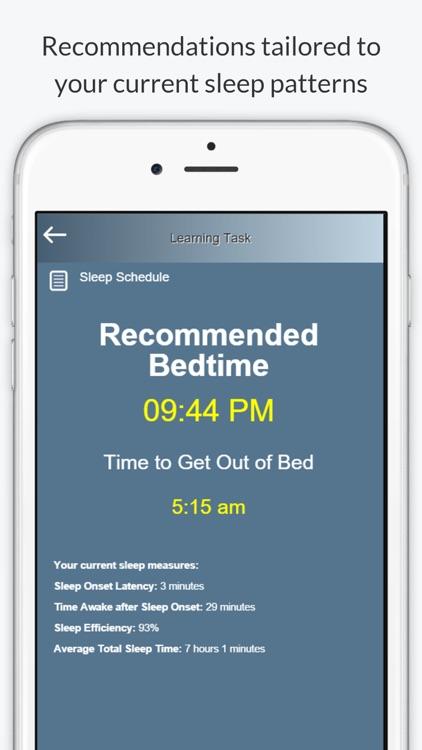 Night Owl - Sleep Coach screenshot-3