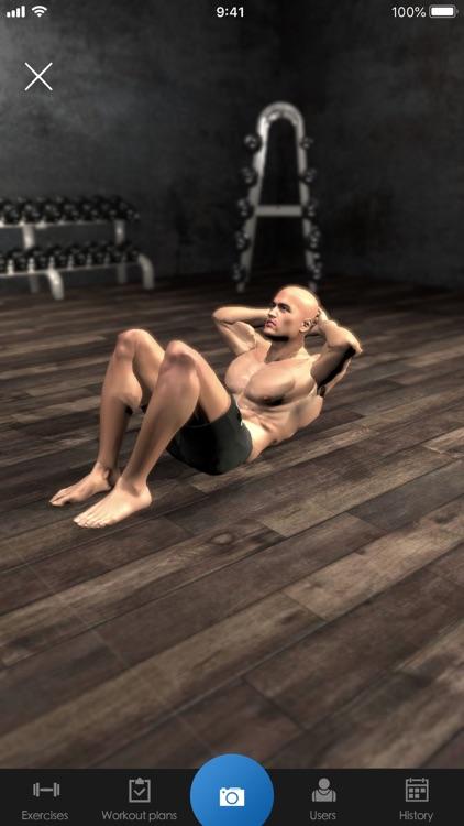 Gymnotize Workout Routines Gym screenshot-5