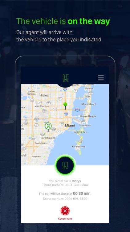 uPPyx: Rent a Car On Demand screenshot-4