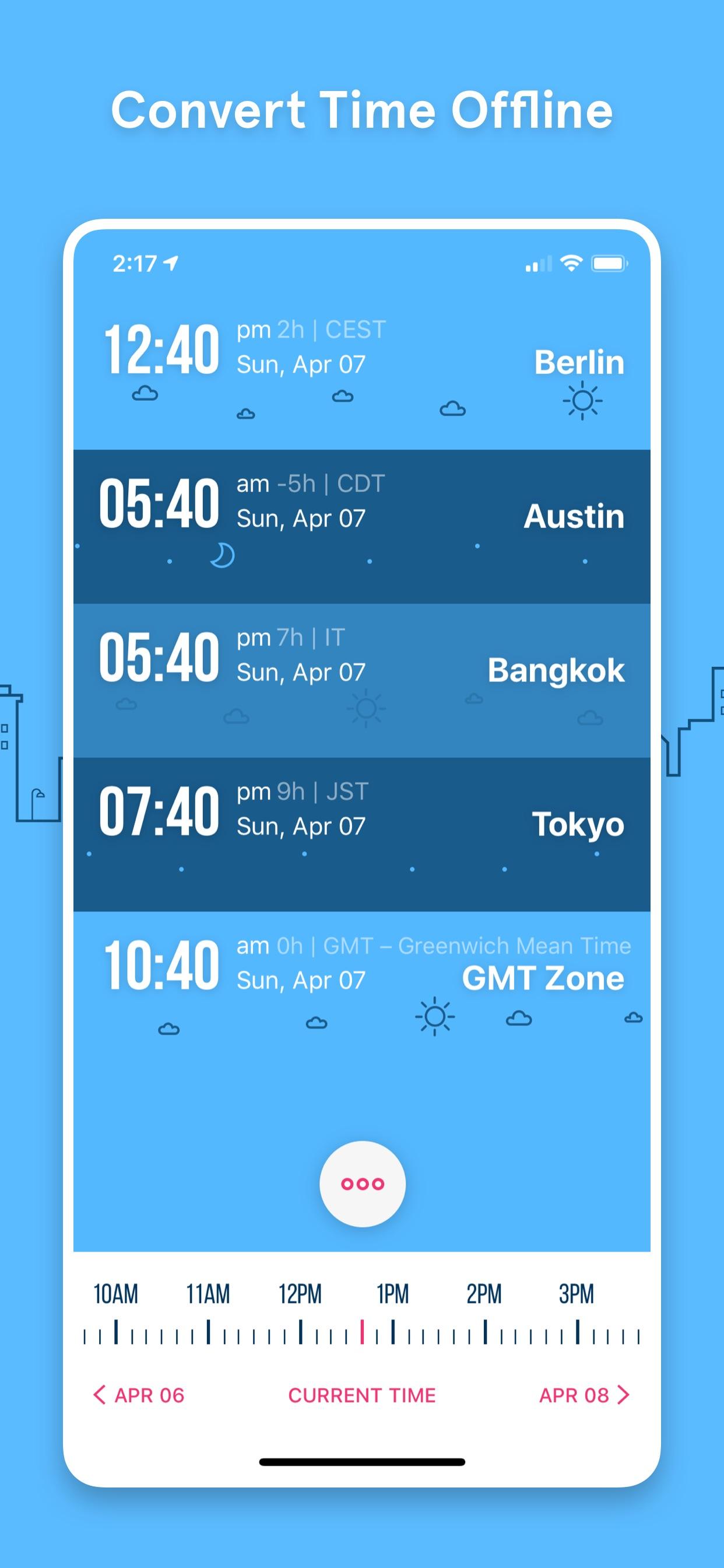 Convert Time Offline