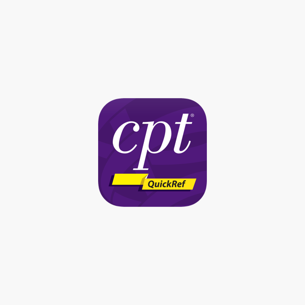 CPT QuickRef on the App Store