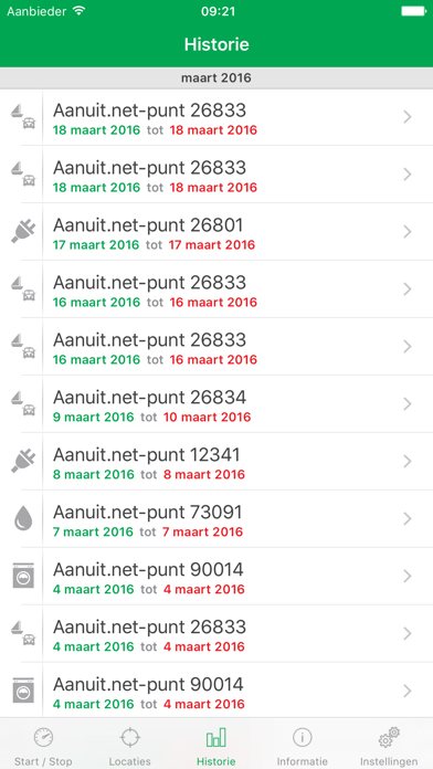 Aanuit.net screenshot three