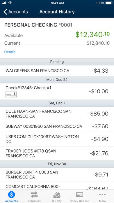 University Credit Union screenshot three