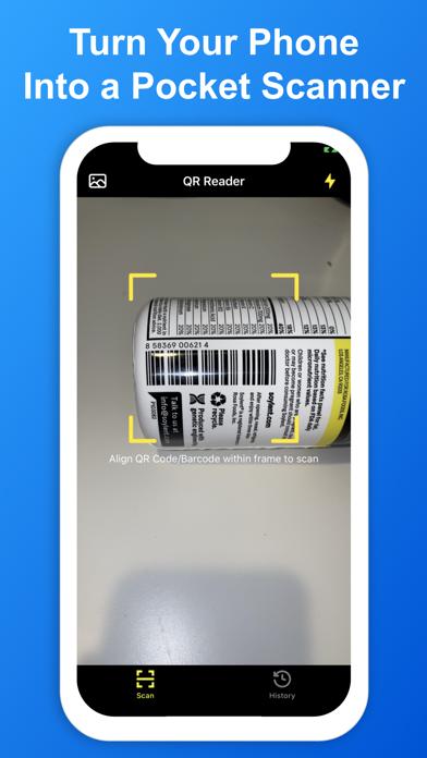 SkyBlueScan:QRコードスキャナーのスクリーンショット2