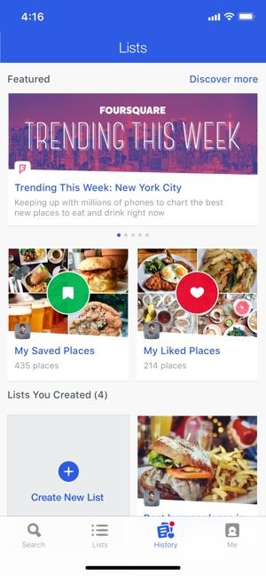 Foursquare sito di incontri