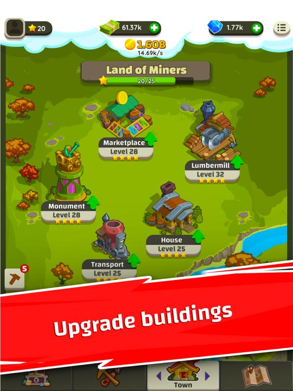 Merge Miners: Idle Tycoon screenshot #4