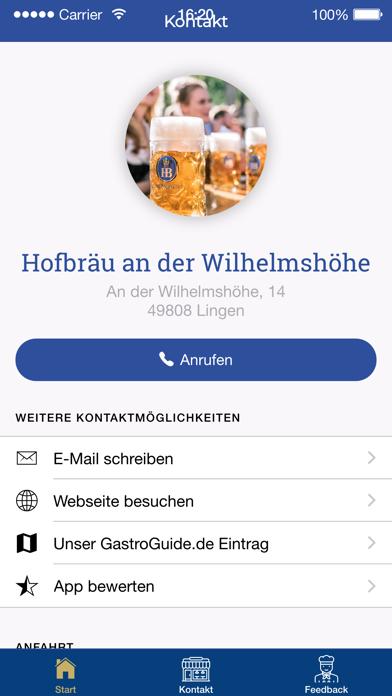 Hofbräu an der Wilhelmshöhe screenshot four