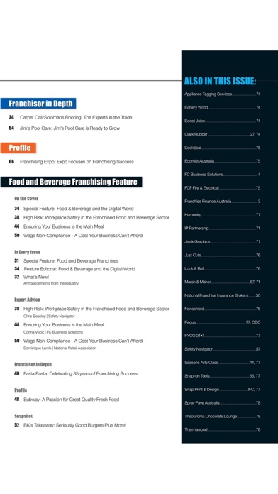 Screenshot for Business Franchise in Kazakhstan App Store
