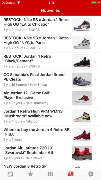 Screenshot #3 pour J23 - Dates de Sortie