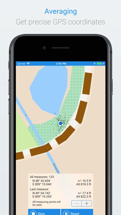 Screenshot for GPS Averaging in Sweden App Store