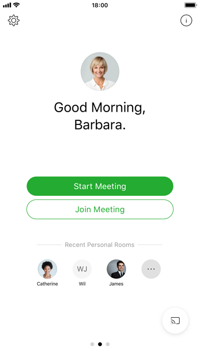 Screenshot for Cisco Webex Meetings in Hong Kong App Store