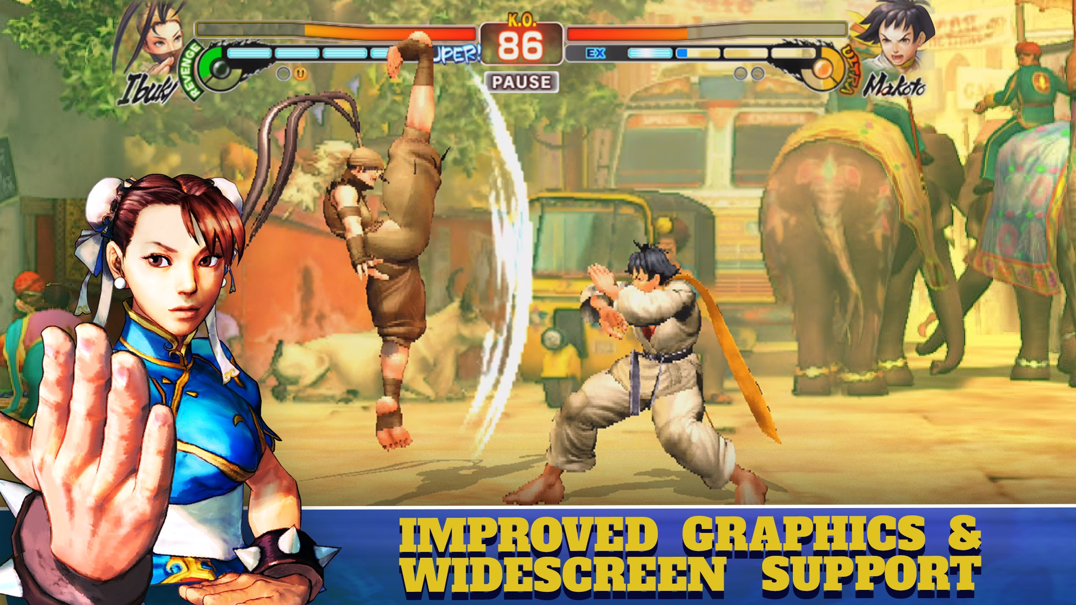 Screenshot do app Street Fighter IV CE