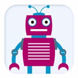 拼装机器人-益智拼图积木游戏