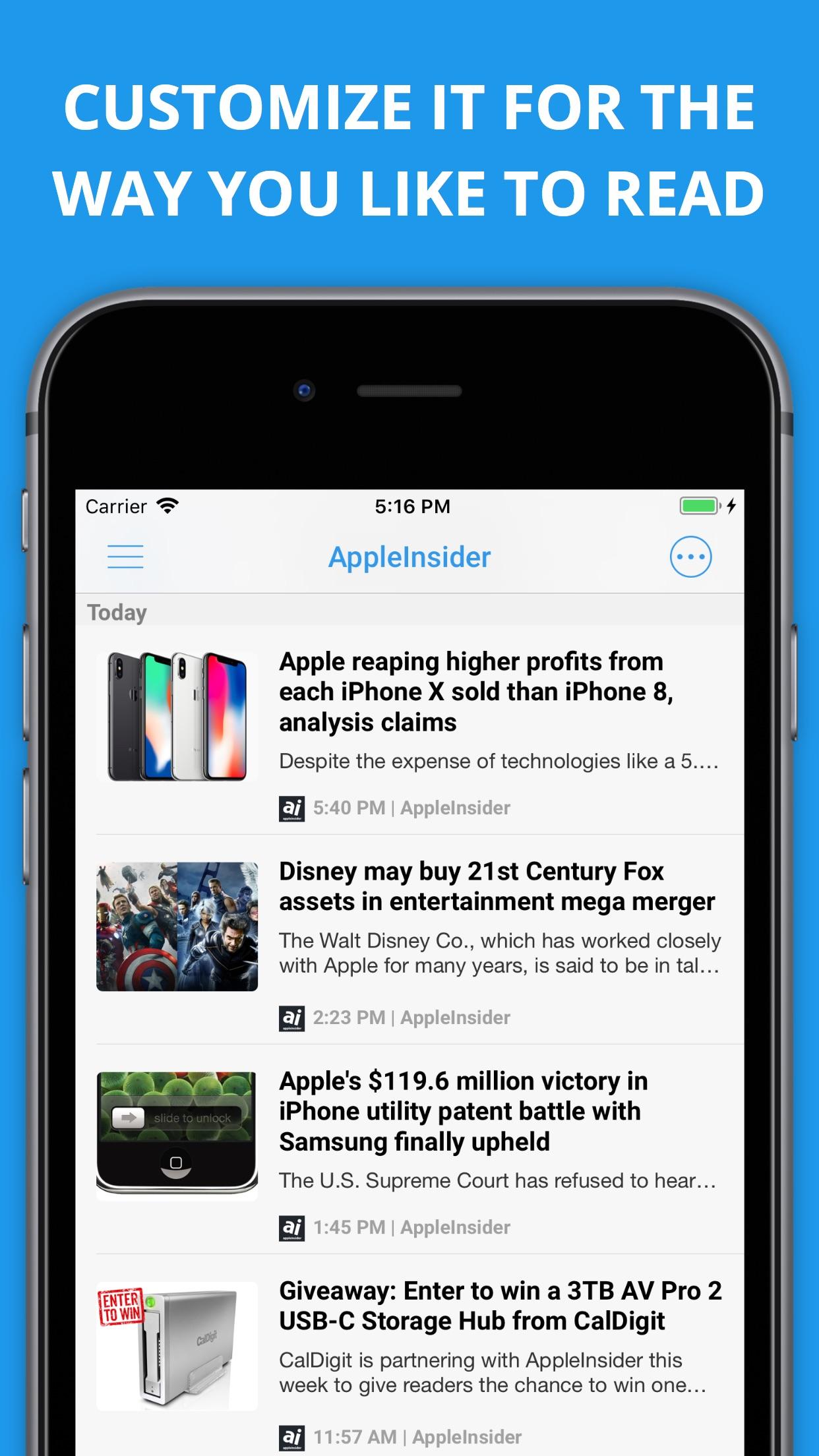 Newsify: RSS Reader Screenshot