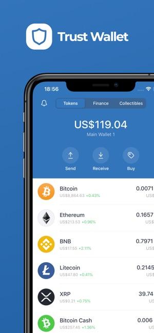 geriausia bitcoin app