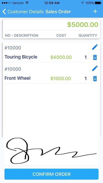 Dynamics NAV Mobile : Captivix screenshot-8