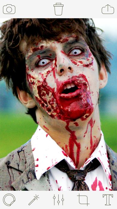 Zombie Photo Booth Pro screenshot one