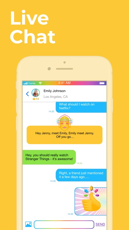 Superfy - ask, answer & chat! screenshot-2