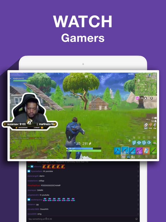 Twitch: Live Game Streaming-ipad-2