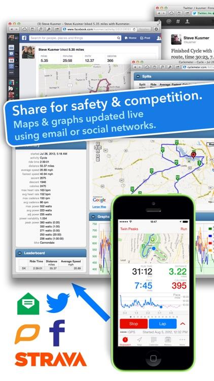 Runmeter Running & Cycling GPS screenshot-3
