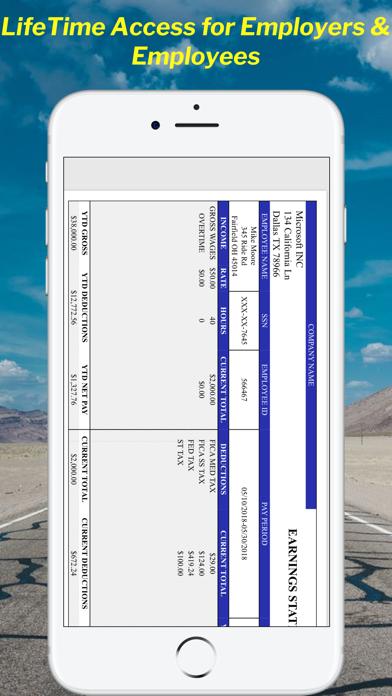 Paystub Calculator Maker Screenshot