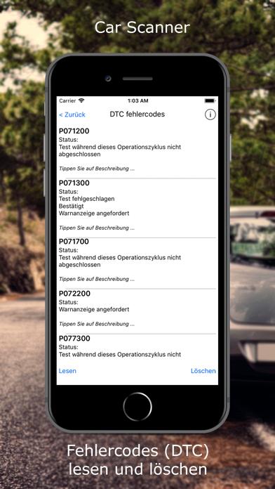 Screenshot for Car Scanner ELM OBD2 in Germany App Store