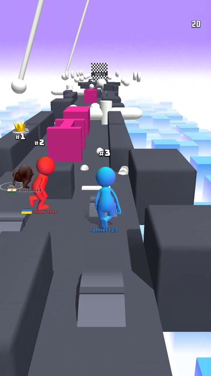Human Runner 3D screenshot-3